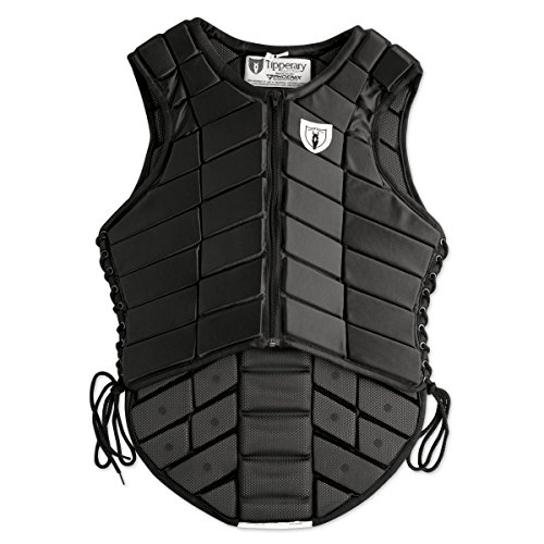Tipperary Eventer Vest Adult Small Black (Protective Horse Riding Vest compare prices)