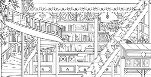 The Time Chamber A Magical Story And Coloring Book Time Adult Coloring Books