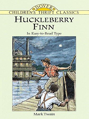 Mark Twain - Huckleberry Finn (Dover Children's Thrift Classics)