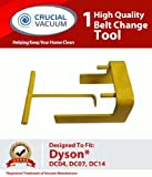 Dyson DC04 DC07 DC14 Vacuum Belt Tool for Dyson Vacuum DC07, DC04 and DC14; Compare To Dyson Part # 10-10000-08; Designed & Engineered By Crucial Vacuum