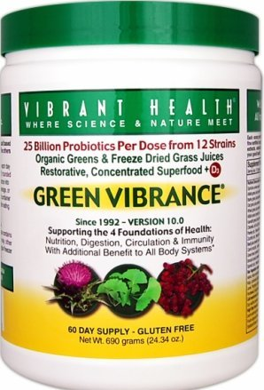 Green Vibrance Powder 60 Day Supply 25.61 Oz.