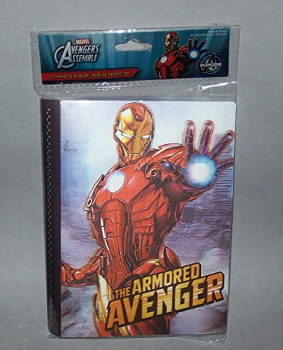 Marvel Avengers Assemble The Armored Avenger 3D 3-D Photo Album - 1