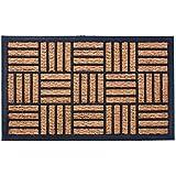 """Indoor/Outdoor Doormat Coco Coir Nonslip Rubber 18""""x30"""" Heavy Duty Printed Mat"""
