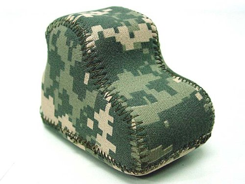 Airsoft Neoprene Protective Cover For Eotech 556 Dot Sight Acu Camo