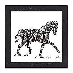 Horse Pen & Ink