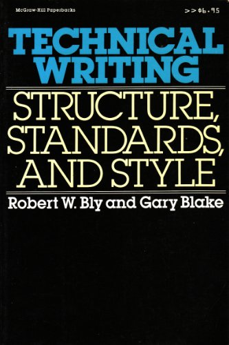 technical writing  structure  standards  and style