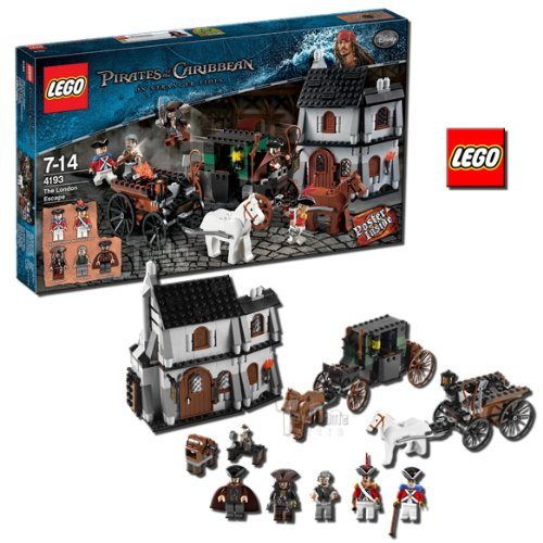 51ZU9xzyjwL Cheap Buy  LEGO The London Escape 4193