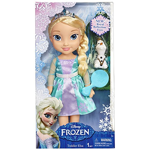Disney Frozen Toddler Elsa Doll with Reflection Eyes JungleDealsBlog.com