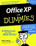 Office XP For Dummies (076450830X) by Wang, Wallace