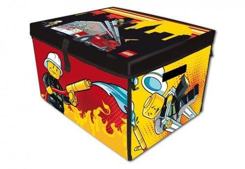 Graphic Solutions AS L 44 LEGO City Fire – Zipbin Aufbewahrungsbox und Spielmatte günstig bestellen
