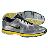 Nike Golf Men's Nike Lunar Ascend Golf Shoe,Stadium Grey/Metallic Silver/Black,11.5 M US