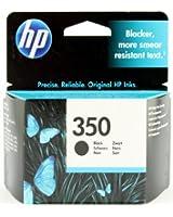 HP 350 Cartouche d'encre d'origine Noir