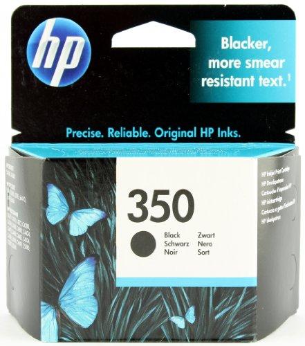HP - 350 - CARTOUCHE D'ENCRE D'ORIGINE - 1 X NOIR - 200 PAGES