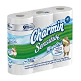 Charmin Sensitive Toilet Paper 9 Mega Rolls (Pack of 4)