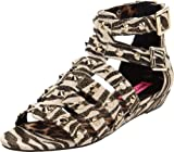 Betsey Johnson Womens Aeroo Wedge Sandal