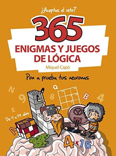 365 ENIGMAS Y JUEGOS DE LOGICA