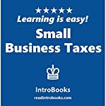 Small Business Taxes |  IntroBooks
