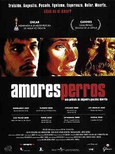 Amazon.com: Amores Perros Poster Spanish C 27x40 Vanessa Bauche Emilio