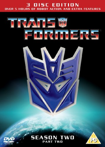Transformers Season  2.2 - Re-Release [DVD] [1984]