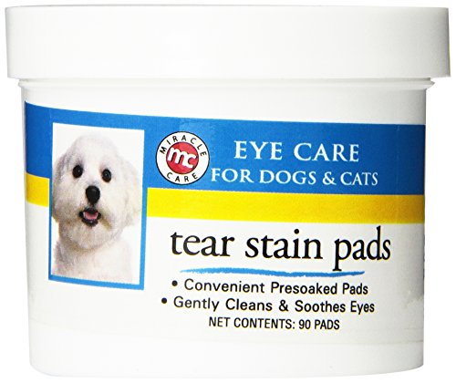 Artikelbild: Miracle Care Products Augenpflege-Pads für Hunde und Katzen, 90Stück
