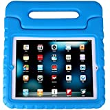 HDE Kids Light Weight Shock Proof Handle Case for iPad 2/3/4 (Blue)