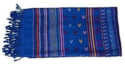 Kinari Women's Viscose Stole (Blue)