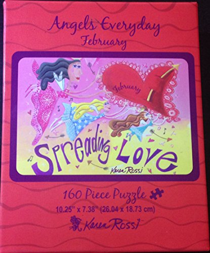 Angels Everyday February, 160 Piece Puzzle