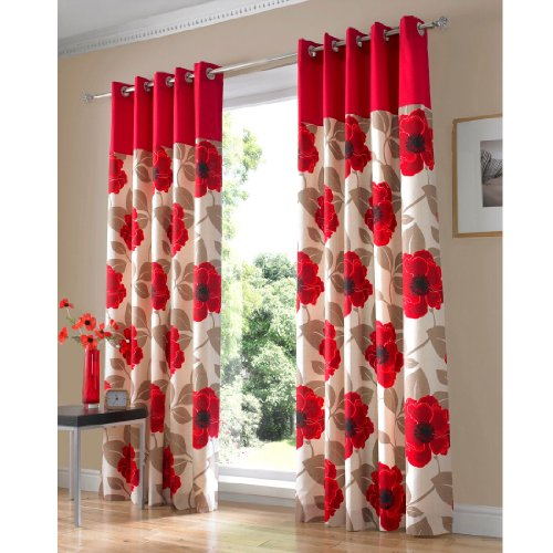Harper Eyelet Curtains (pair) 46