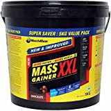 MuscleBlaze Mass Gainer XXL With 250g Creatine, 11 Lb Chocolate