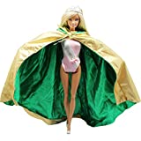 Fashion Princess Dress Cloak Outfit Clothing Overcoat For Barbie Doll Xmas Gift