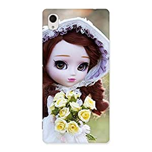 Delighted Bride Angel Doll Multicolor Back Case Cover for Sony Xperia M4