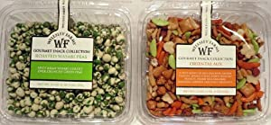 Wellsley Farms Gourmet Snack Collection Variety- Roasted Wasabi Peas And Oriental Mix