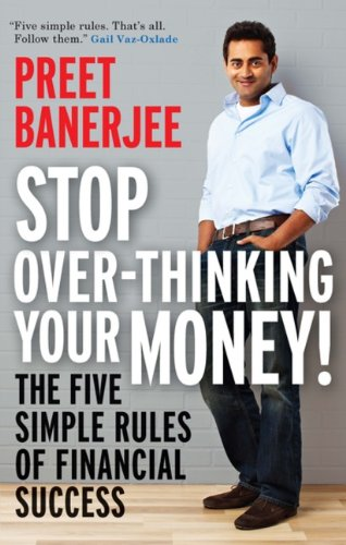 Stop over-thinking and get Preet Banerjee's book at Amazon.ca