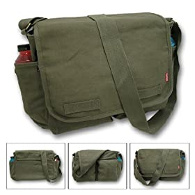 Heavyweight Classic Messenger Bag