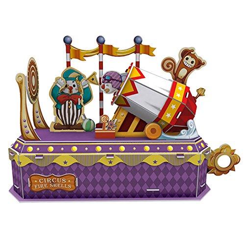 Cubic Fun Circus - Clown Cannon, K1303h 52 pieces