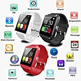 Iball Andi4a Projector Compatible and Certified Smart Android OS U8 Watch and Activity Wristband with Wireless Bluetooth Connectivity ( Get Mobile Charging Cable worth Rs 239 FREE & 180 days Replacement Warranty )