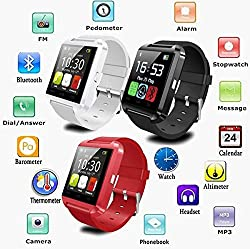 Byond B66 Compatible and Certified Smart Android OS U8 Watch and Activity Wristband with Wireless Bluetooth Connectivity ( Get Mobile Charging Cable worth Rs 239 FREE & 180 days Replacement Warranty )