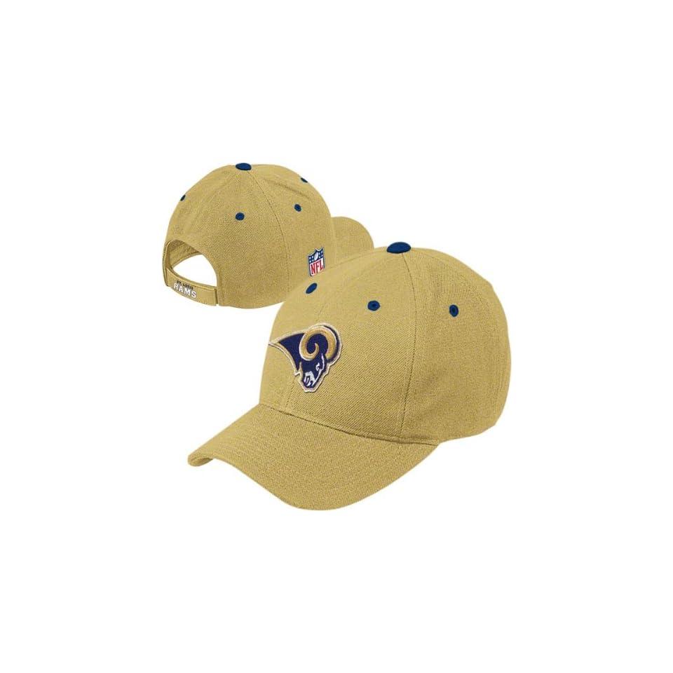 St. Louis Rams 2011 Gold BL Adjustable Hat