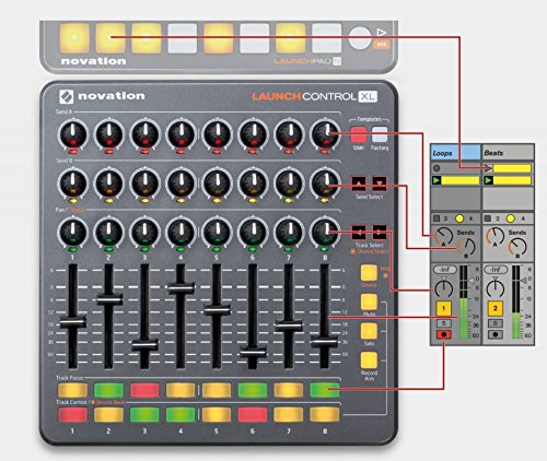 Novation Launch Control XL Mixer - 5