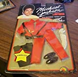 Michael Jackson 1984 Thriller Doll Stage OUTFIT - OUTFIT ONLY
