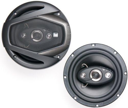 Dual Dls654 6.5-Inch 4-Way 160-Watt Speakers