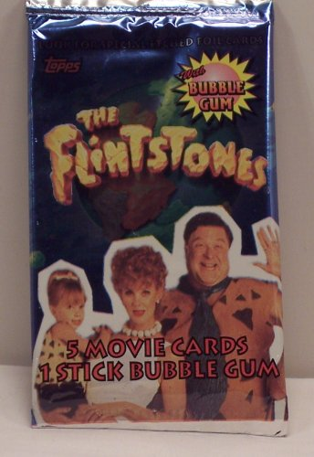 The Flintstones Movie Trading Card Pack - 1