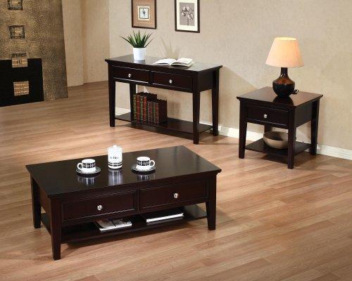 Coaster Home Furnishings 700738 Casual Coffee Table, Cappuccino