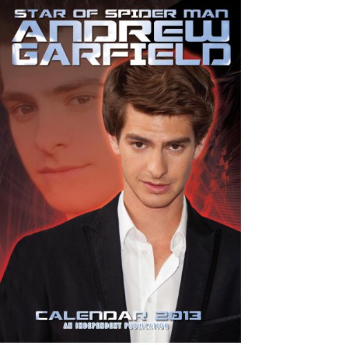 andrew-garfield-spider-man-uk-2013-wall-calendar-brand-new-sealed