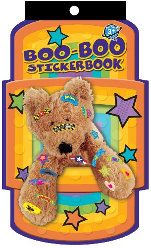 Eureka Die-Cut Stickerbook Boo Boo Learning Playground Sticker Book
