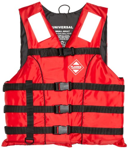 Fladen Safety 50N Buoyancy Aid ISO12402-5 - Red, 60+kg