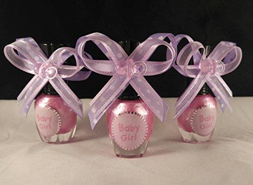 Lavender Bow & White Polka Dots