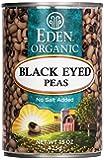Black Eyed Peas Organic 15 oz (425 grams) Can