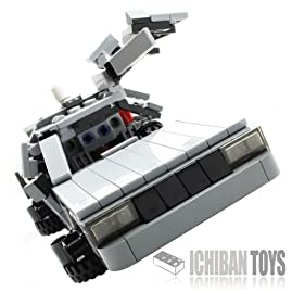 BTTF Time Machine V4.5 - Custom LEGO Element Kit