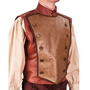 Steampunk Airship Captain Flying Vest - Large